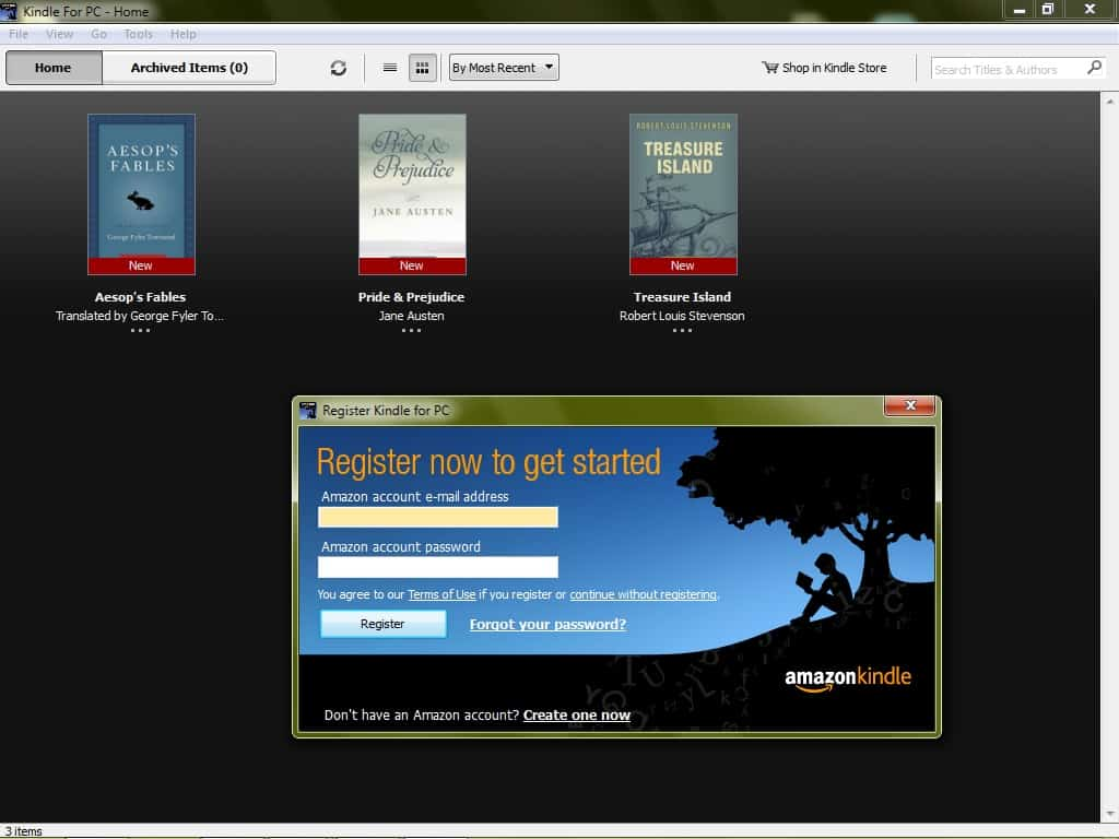 Kindle-for-PC Free Download