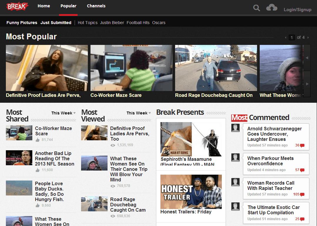 Break.com website